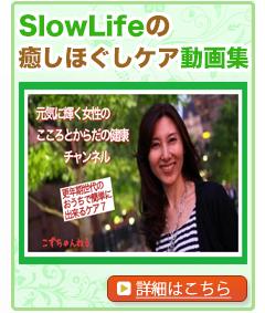 さいたま市の整体・カイロプラクティック院(ボディケア・メンタルケア)~Slowlife